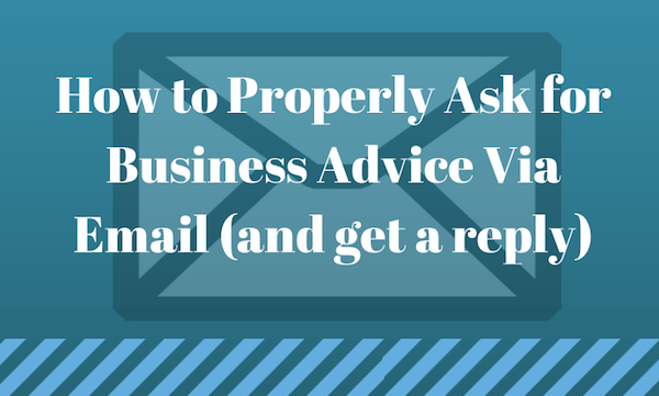 Business Advice Email