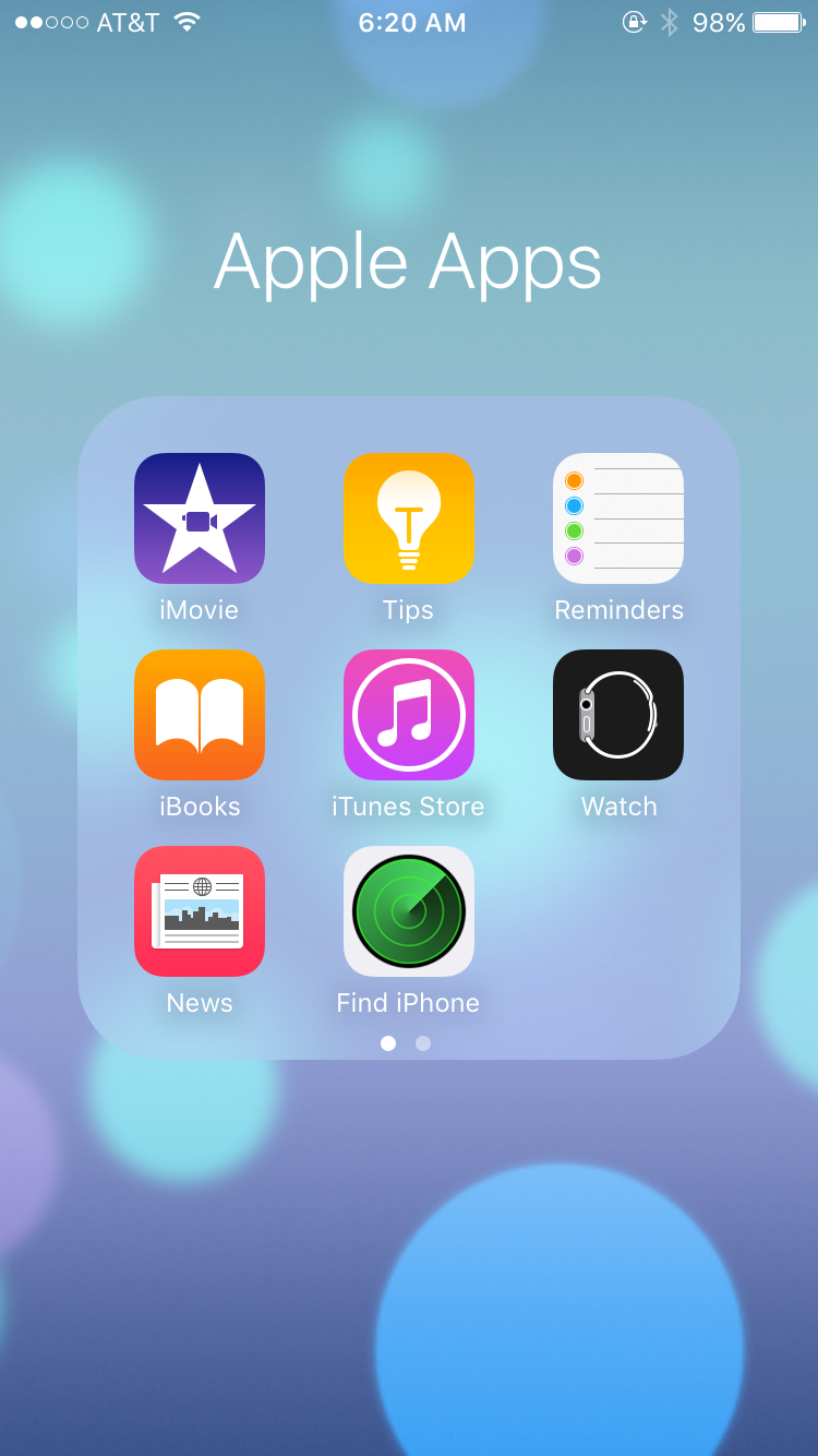 iOS 10 allows you to remove Apple native apps